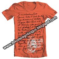 jasa desain T-shirt distro dengan photoshop