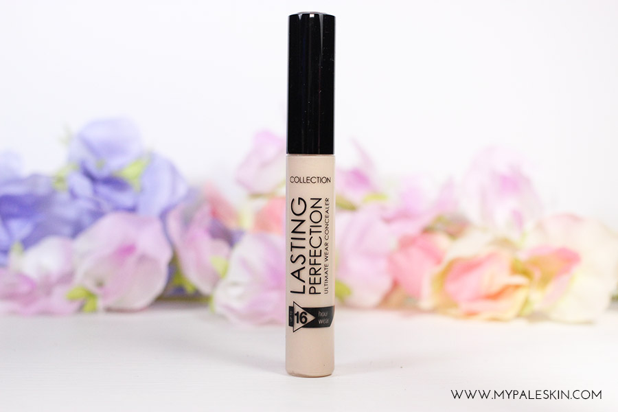 collection lasting perfection concealer fair shade 1 pale skin swatch nc15 dupe