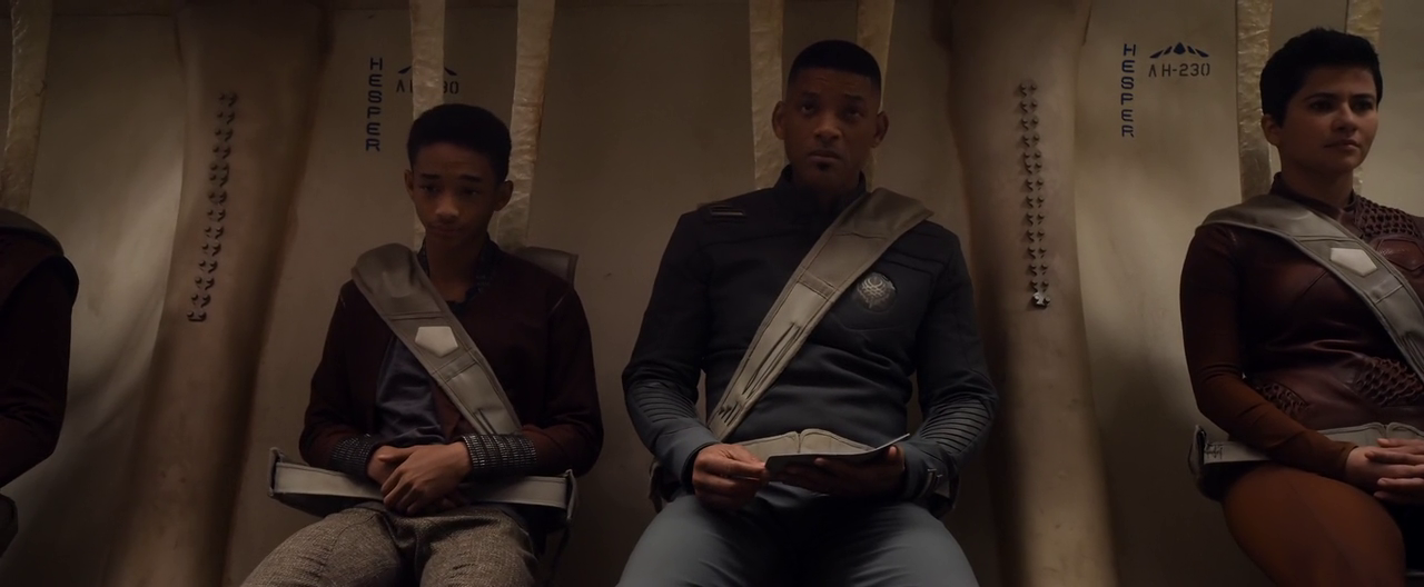 Will Smith and Jaden Smith in After Earth by Ocean's Movie Reviews