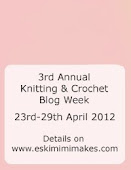 knitting and crochet blog week.