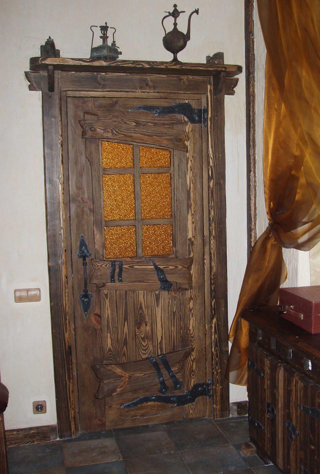 Мебель под старину из состаренного дерева