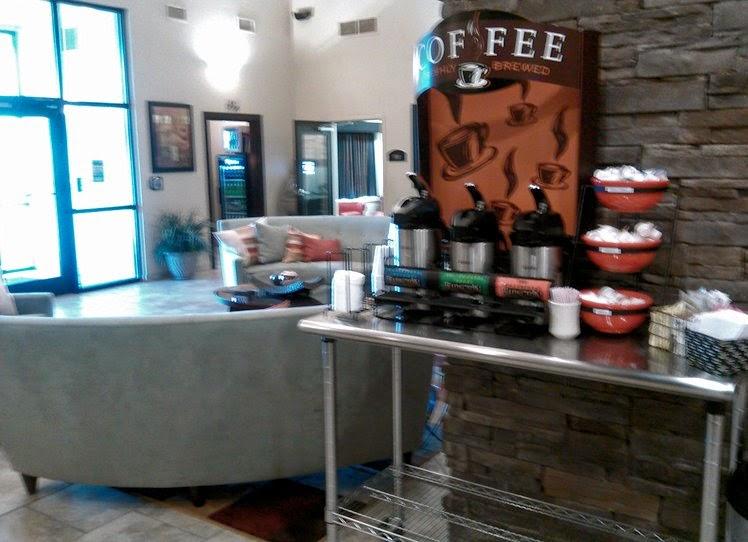 hotel lobby coffee