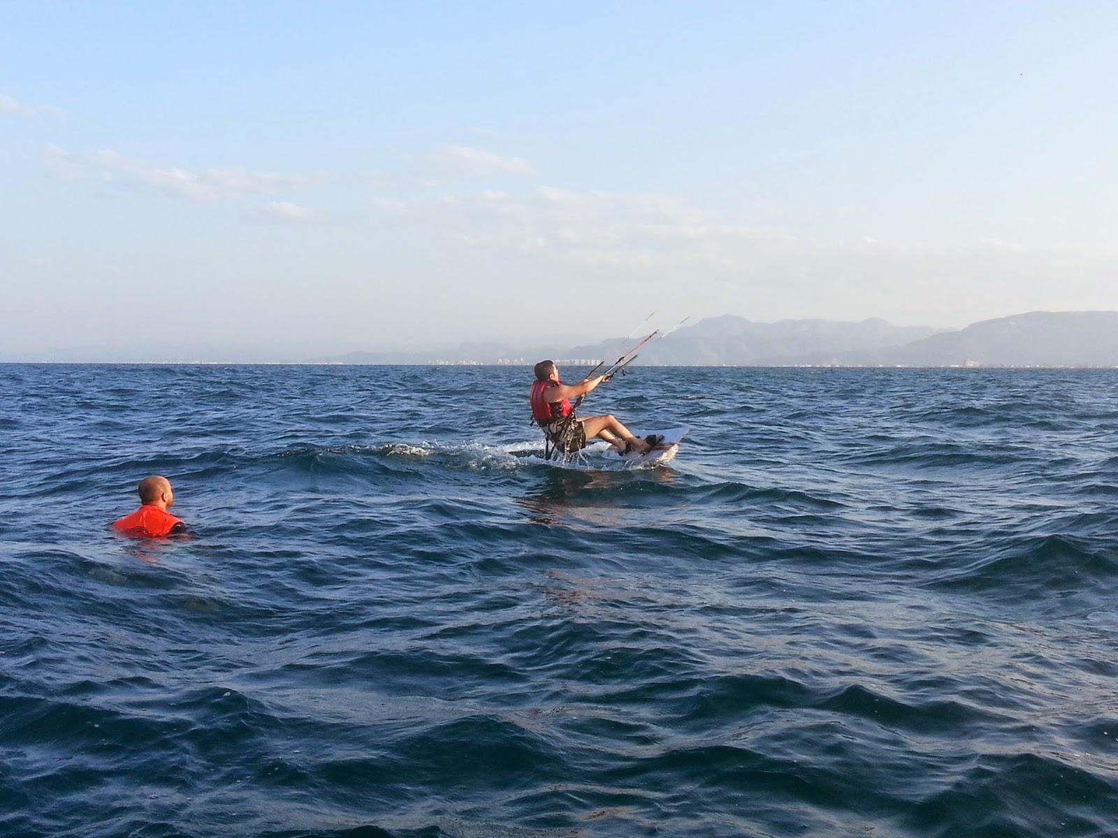 curso kitesurf avanzado en valencia