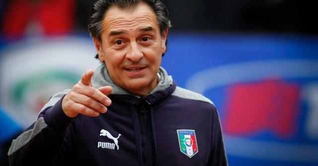 Italian Football Team Brasil 2014