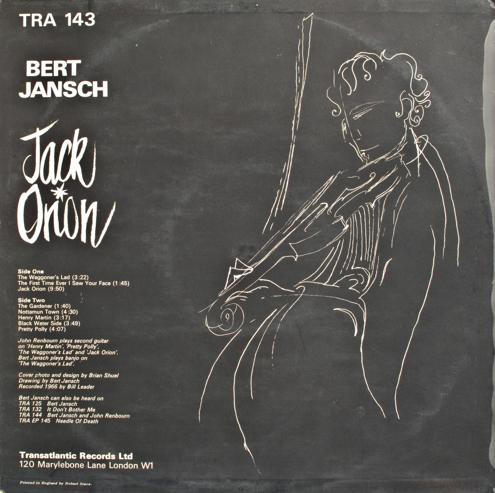 Bert Jansch Lucky Thirteen