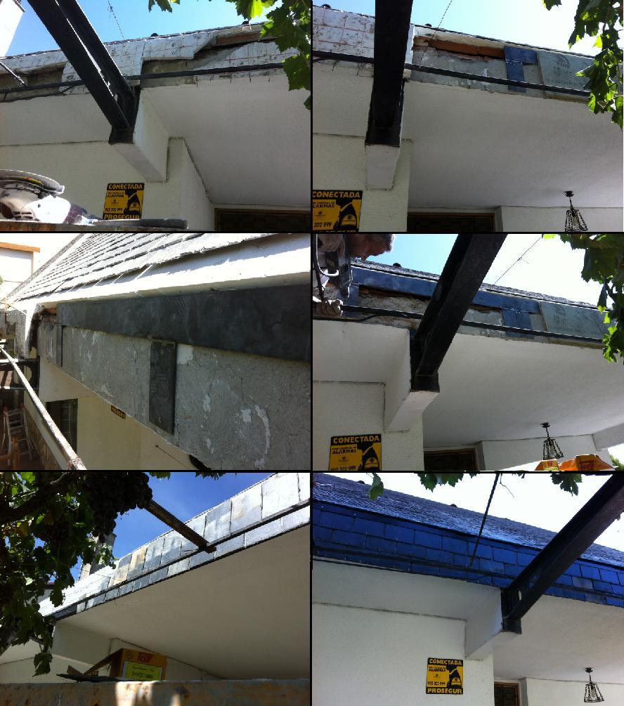 Tejados de pizarra y reparaci n de goteras en tejados de - Tejados de pizarra ...