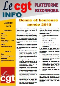 CGT INFOS Janvier 2018