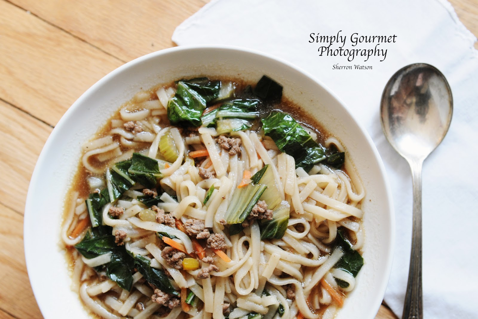 Simply Gourmet: 126. Beef Noodle Soup