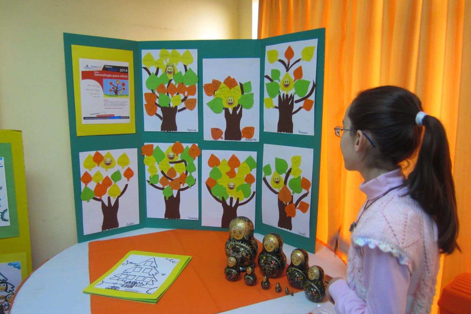 GeneaGeneraciones: Genealogía para niños #2, en talleres de CECAL