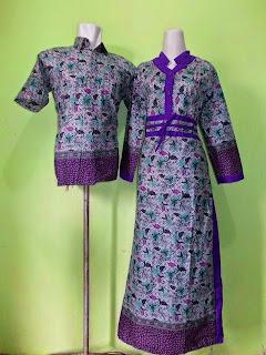 Foto Model Baju Batik Sarimbit Pekalongan