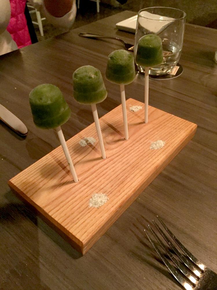 Mtlatable 2015-EVOO-Amuse bouche-grape popsiciles