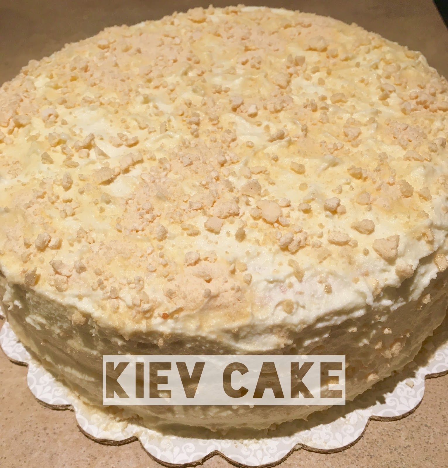 The recipe of Kiev cake is tasty and unusual 42
