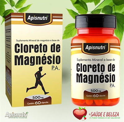 O Cloreto de Magnésio é fundamental para o bom funcionamento do nosso organismo