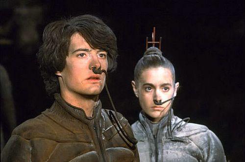 Paul Atreides y Chani, los protagonistas de Dune