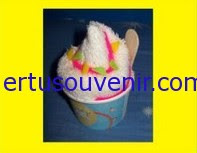 Souvenir Pernikahan Handuk Ice Cream