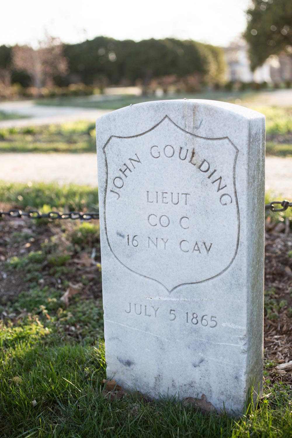 Arlington National Cemetery John Goulding Headstone