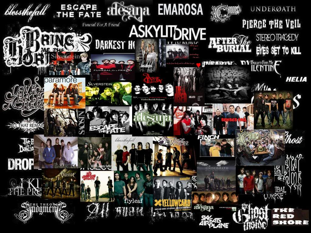 Emo Screamo Wallpaper Screamo Adalah Genre Musik