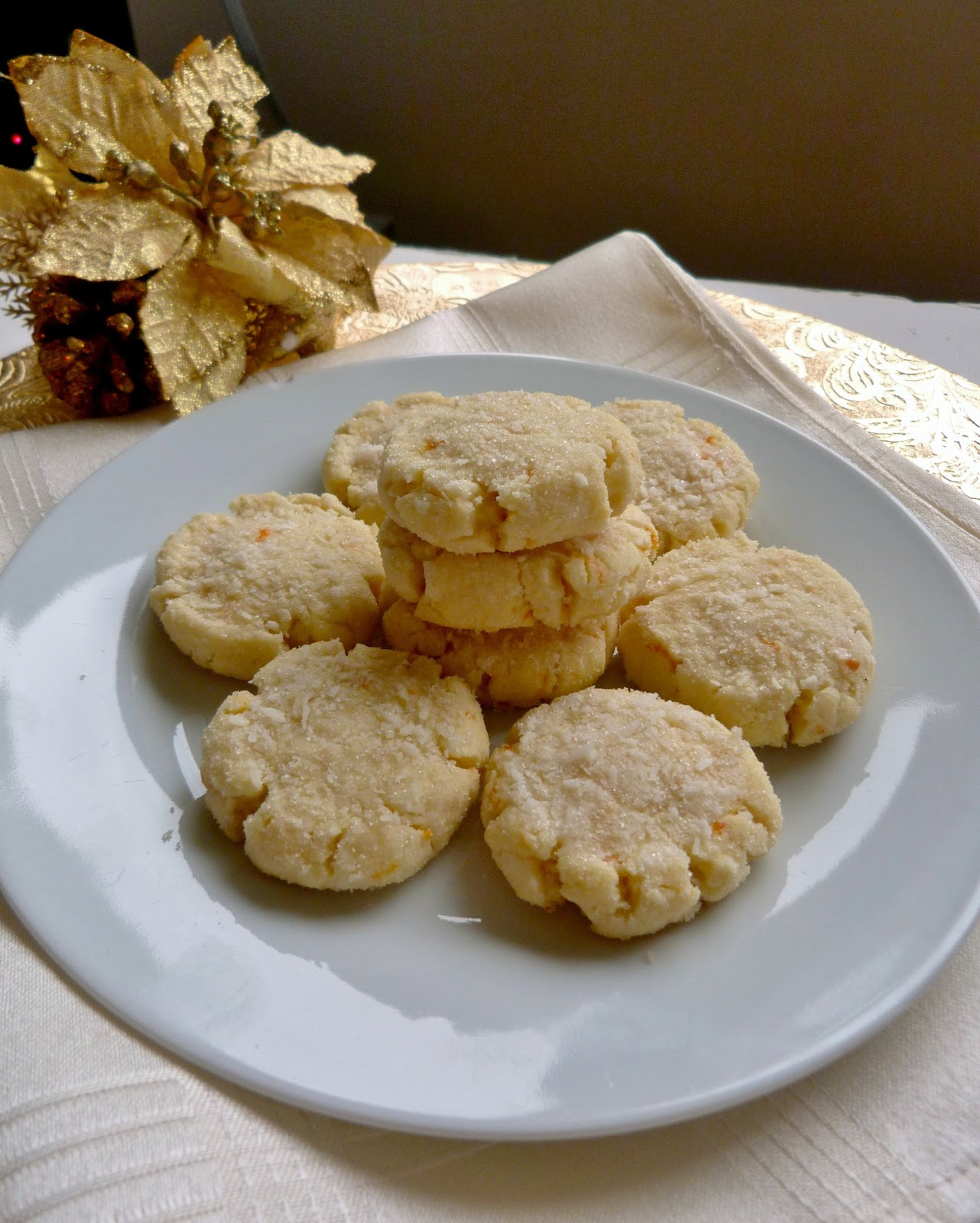 clementine cookies to our cookie swap that i really liked
