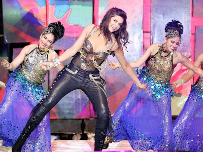 Deepika Padukone performs during the Pepsi Indian premier League 6 Opening Ceremony