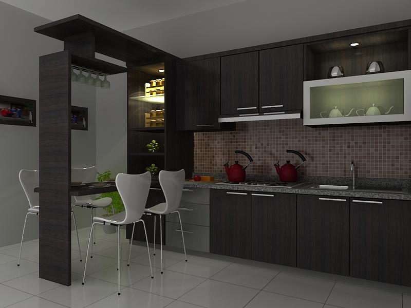 New home design 2011 modern kitchen set design for Harga kitchen set