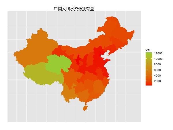 用ggplot2包来绘制地图