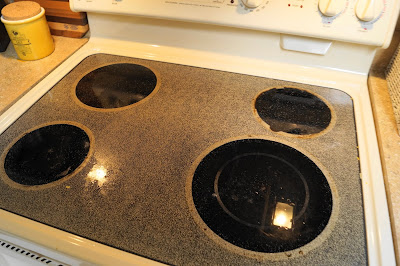 Is My Dance Floor: Cleaning Your Glass-top Stove - Chemical Free