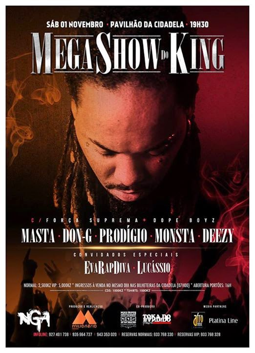 Mega Show do King [Dia 1 de Novembro]