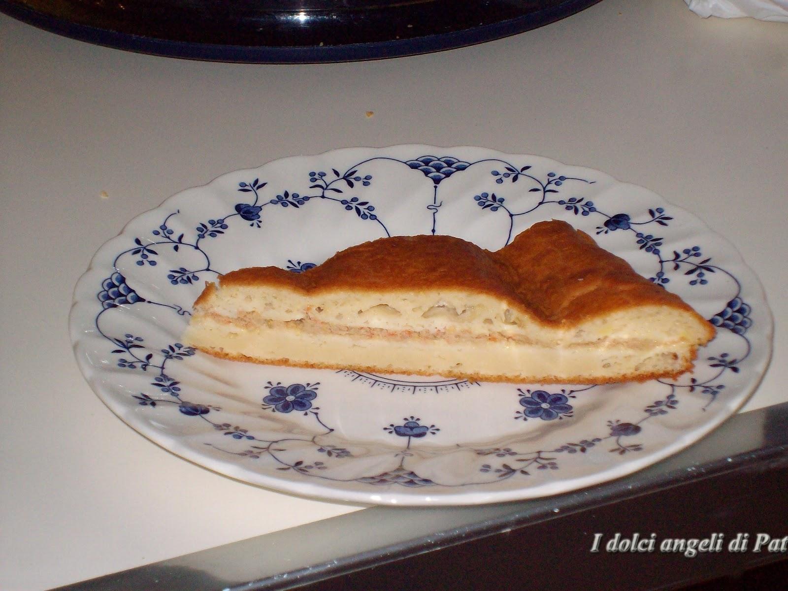 Ricette torta rustica tonno e sottaceti