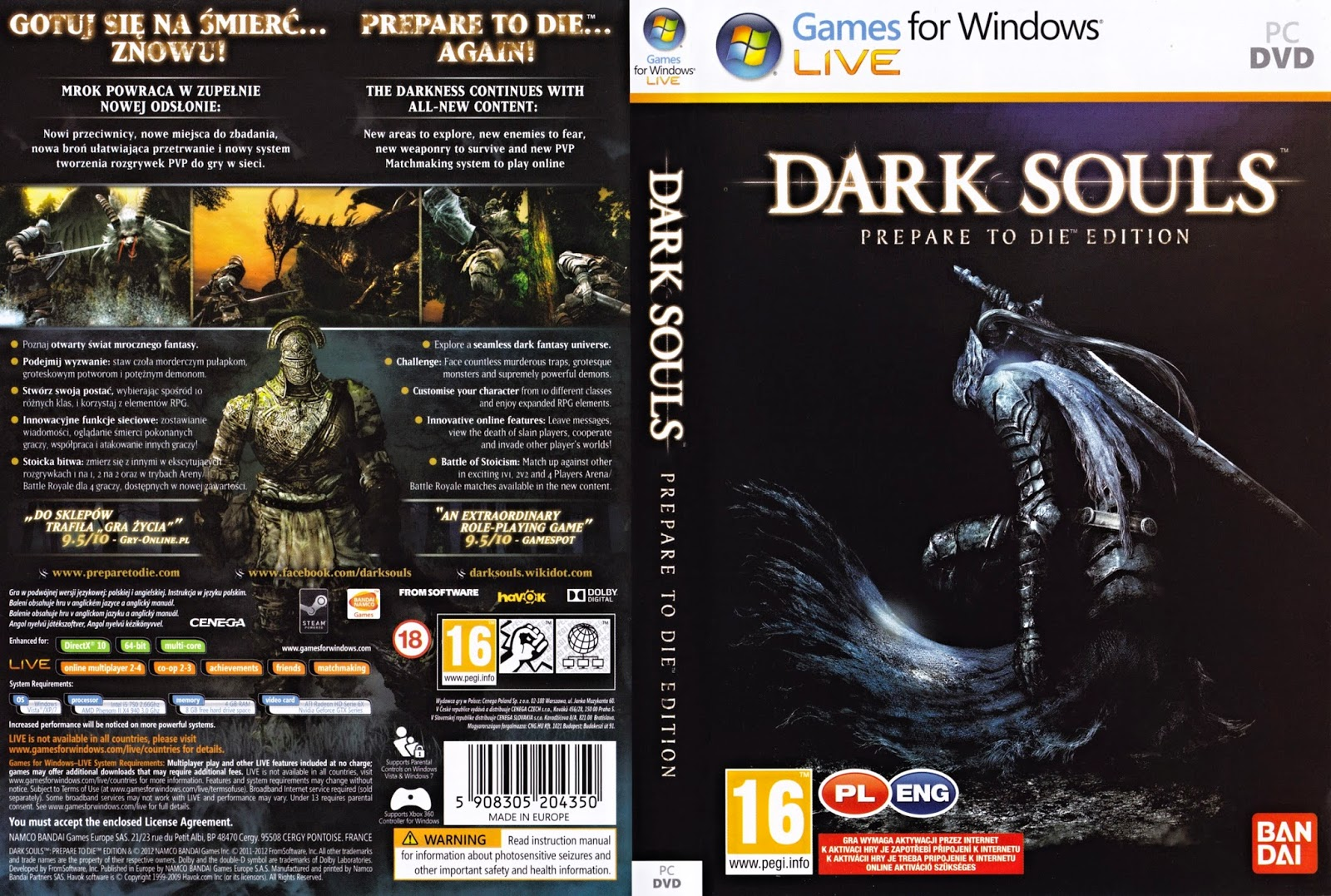 Dark Souls (Prepare to Die Edition) PC Game ISO Direct ...