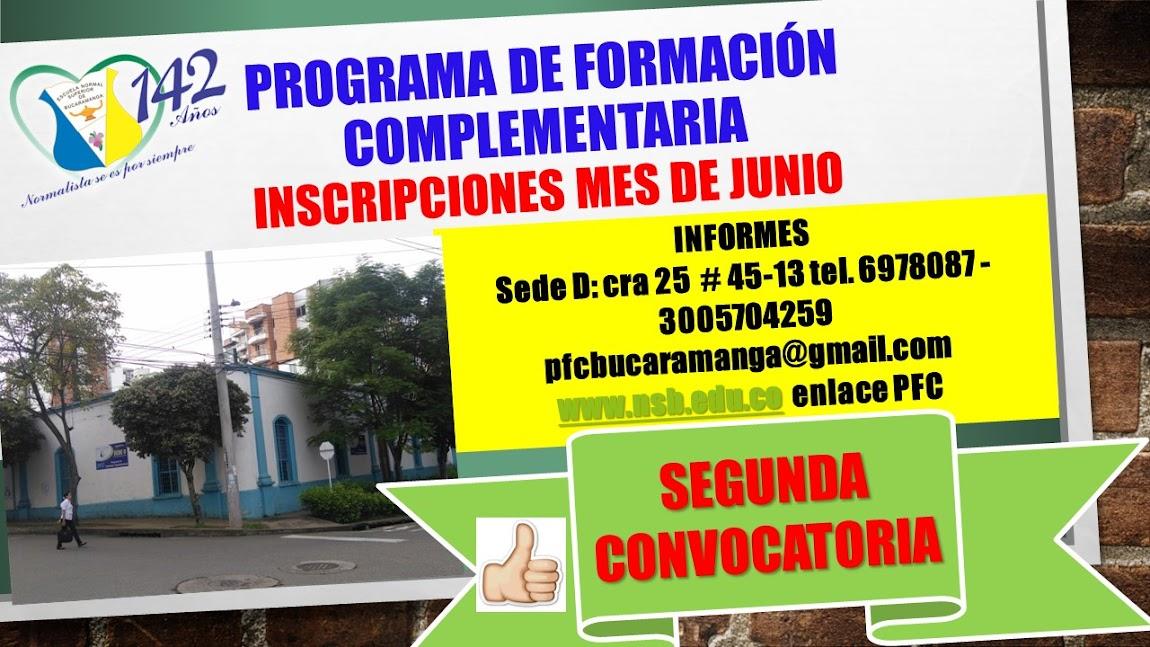 FORMACION DE MAESTROS PFC-ENSB
