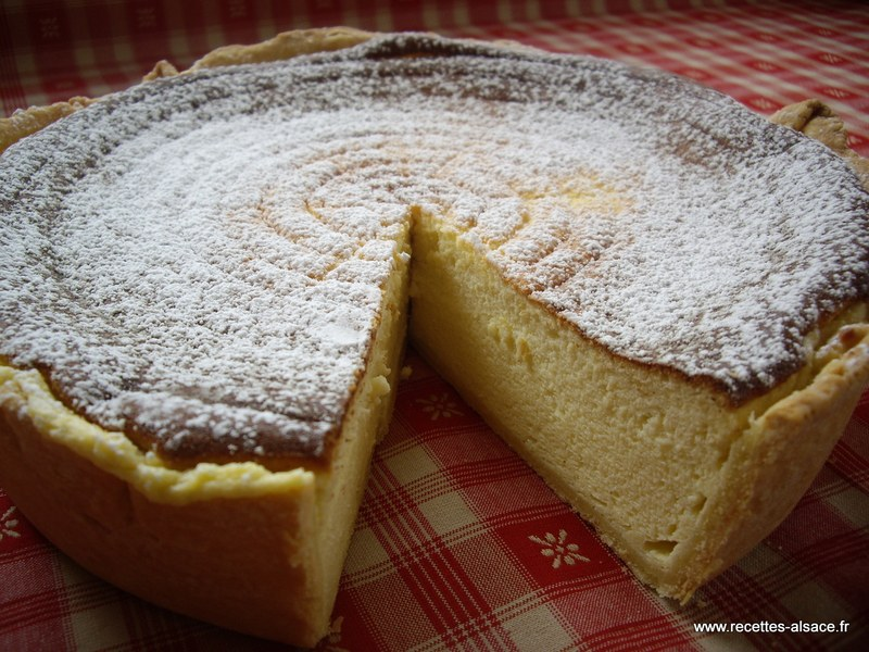 Tarte au fromage blanc sucr au thermomix - Recette blanc d oeuf thermomix ...
