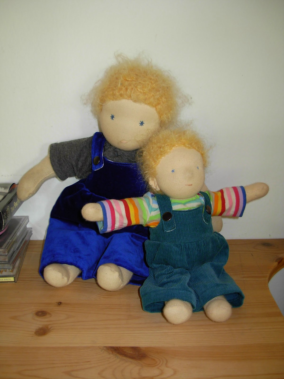 Puppen für Jungen selbst genäht