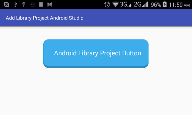 How to Add a Library Project to Android Studio