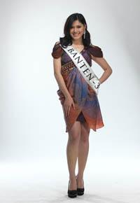 MISS INDONESIA 2011 CONTESTANT - Nadya Siddiqa