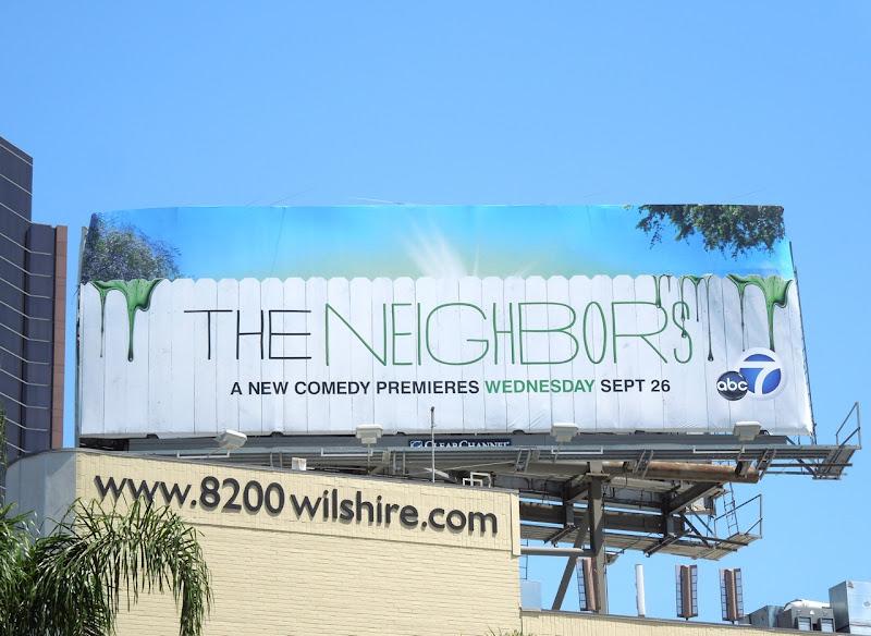 Neighbors series premiere billboard