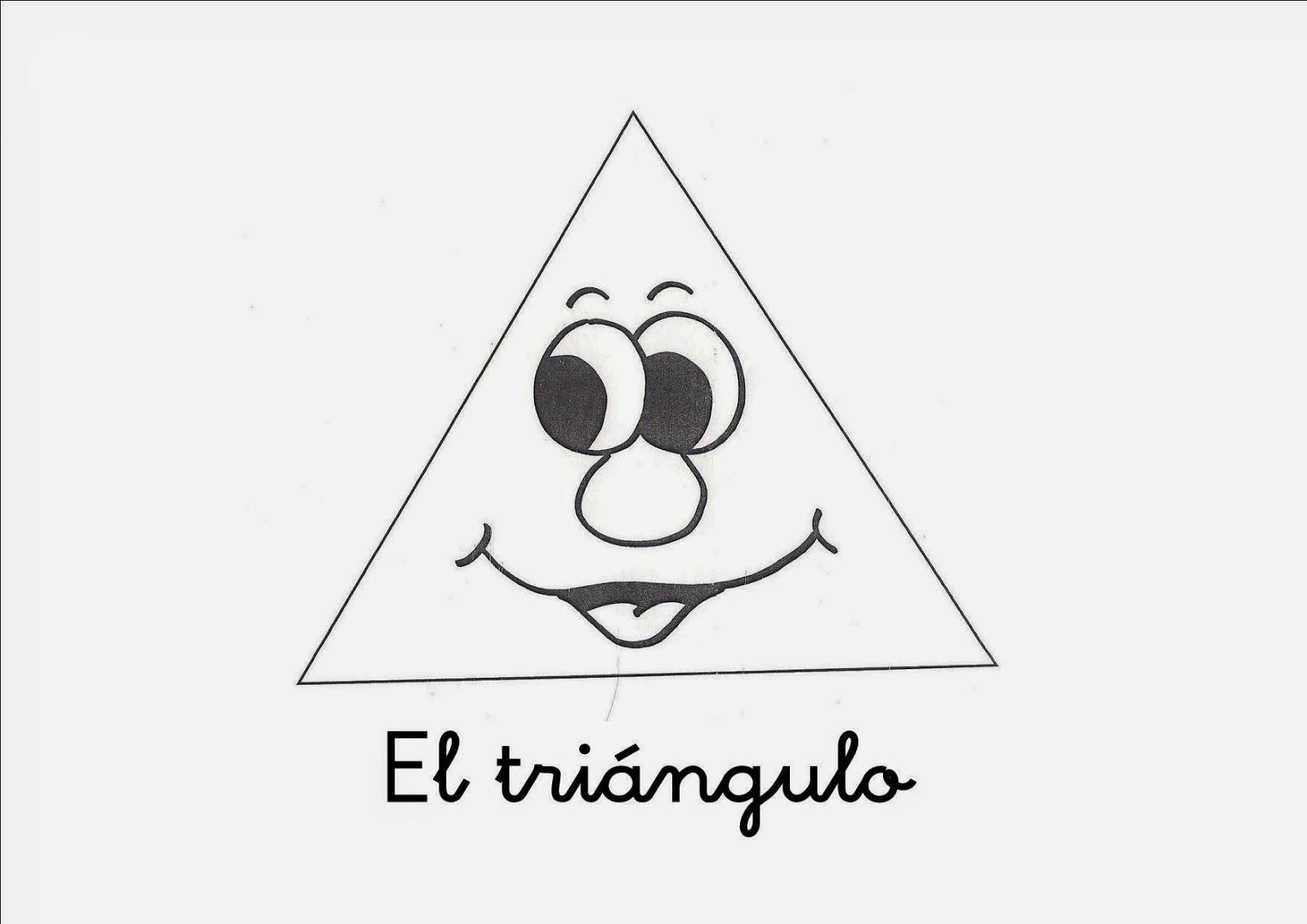 Dibujos para Colorear: Triangulos
