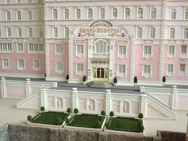 The Grand Budapest Hotel film model