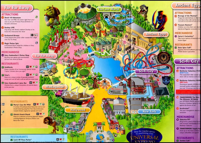 Universal Studio Singapore Plan