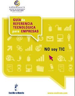 Guía de referencia tecnológica para empresas no Soy TIC