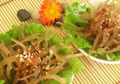 Comida con algas