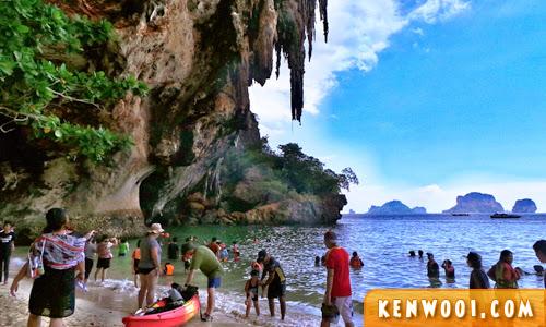 krabi isalnd tour phra nang cave