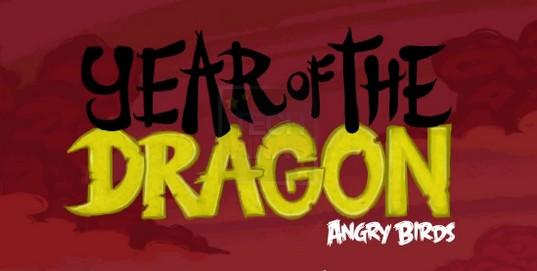 angry birds year of the dragon
