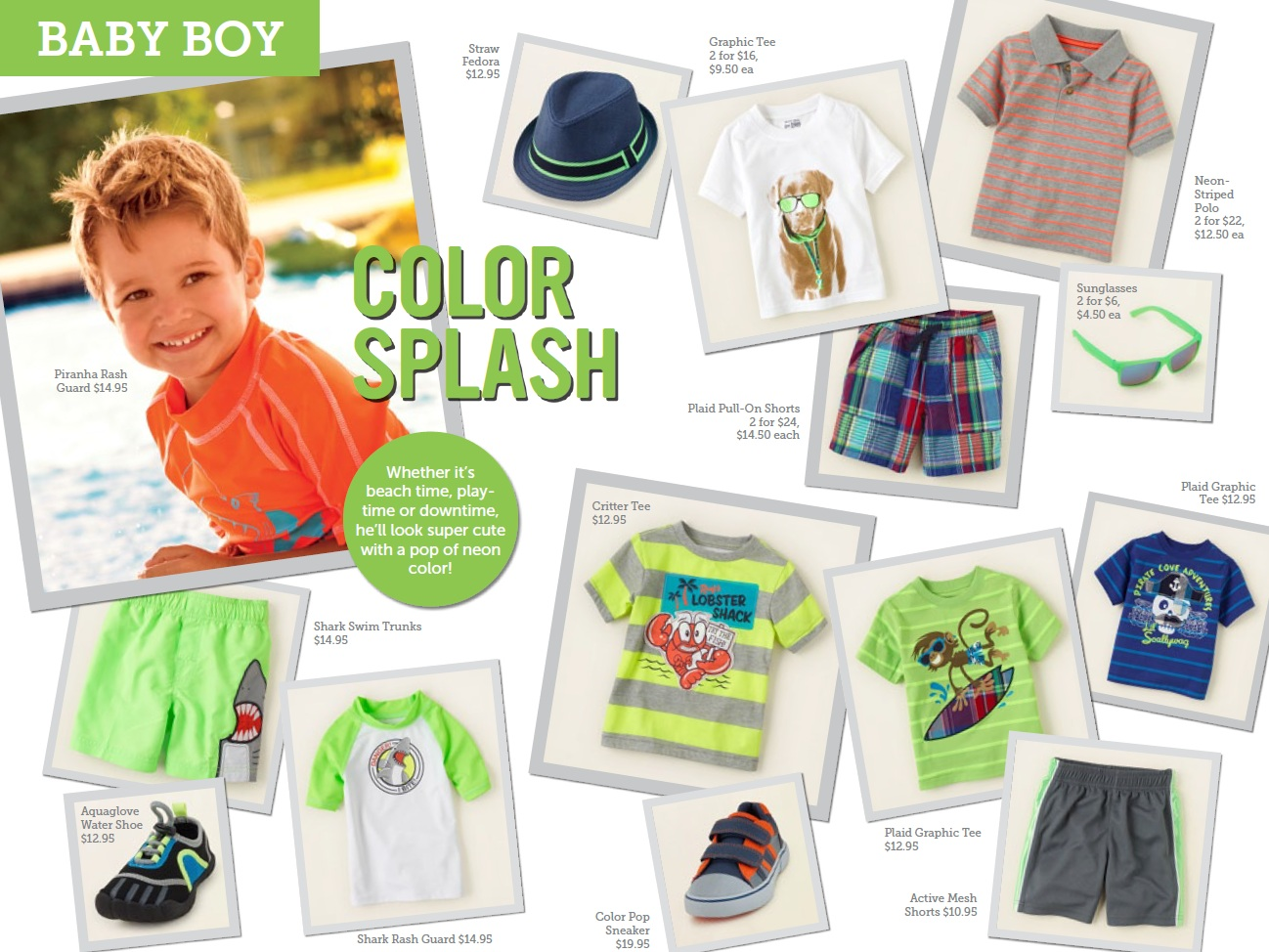 baby boy summer trends