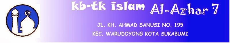 KB-TK ISLAM AL-AZHAR 7 KOTA SUKABUMI