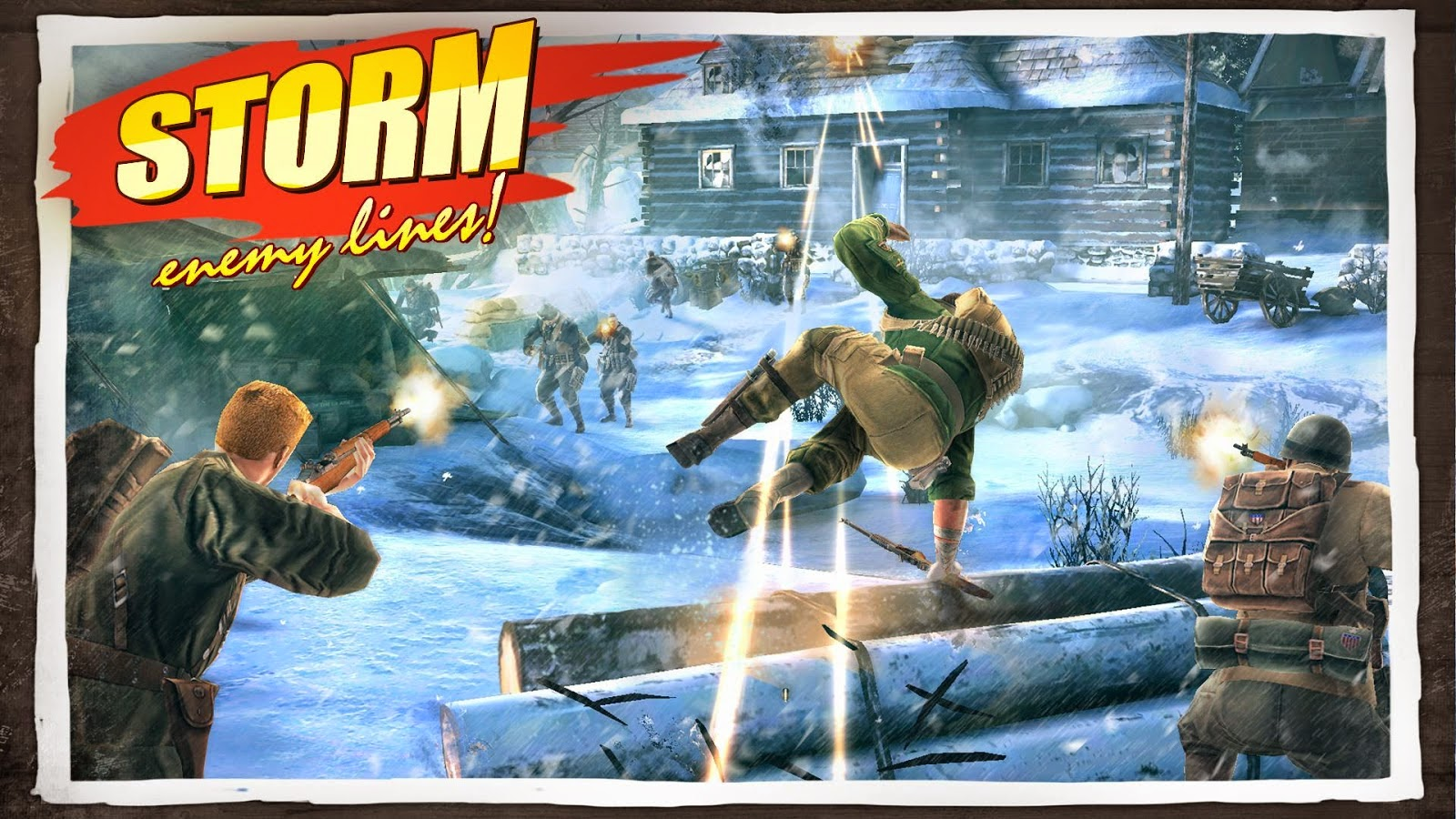 Brothers in Arms 3 1.1.0k MOD Apk (Unlimited Medals)
