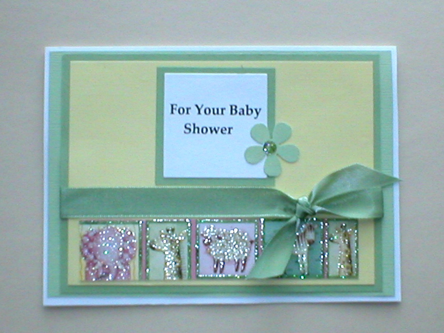 Baby Shower Handmade Card Ideas : Let39;s Celebrate!