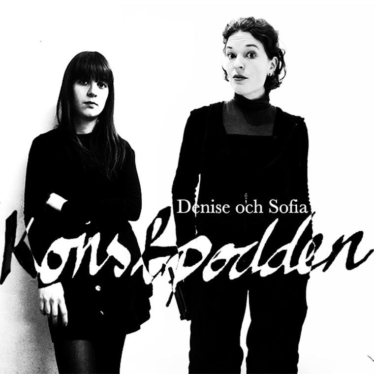 Konstpodden med Denise & Sofia