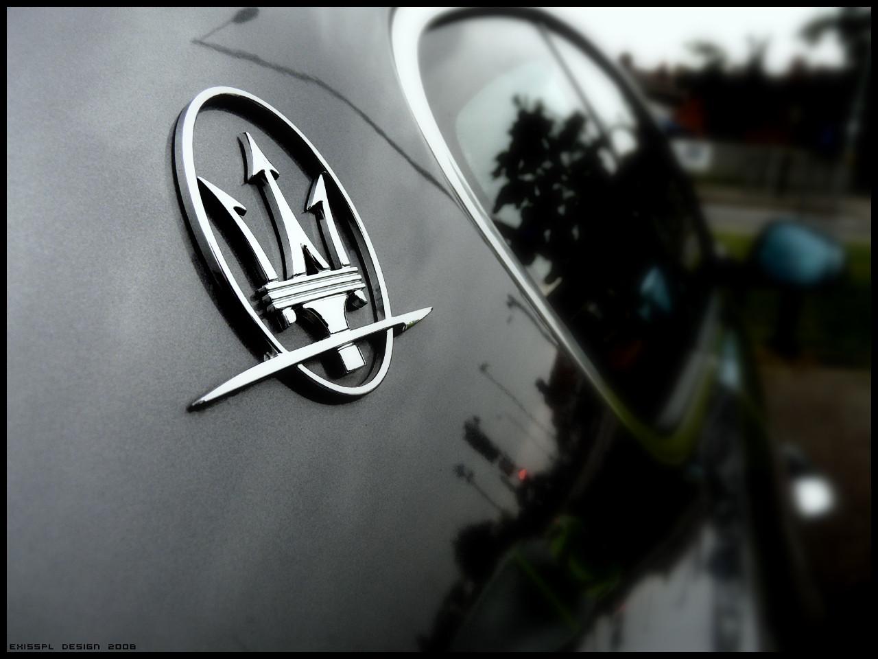 Maserati Logo Wallpaper World Of Cars