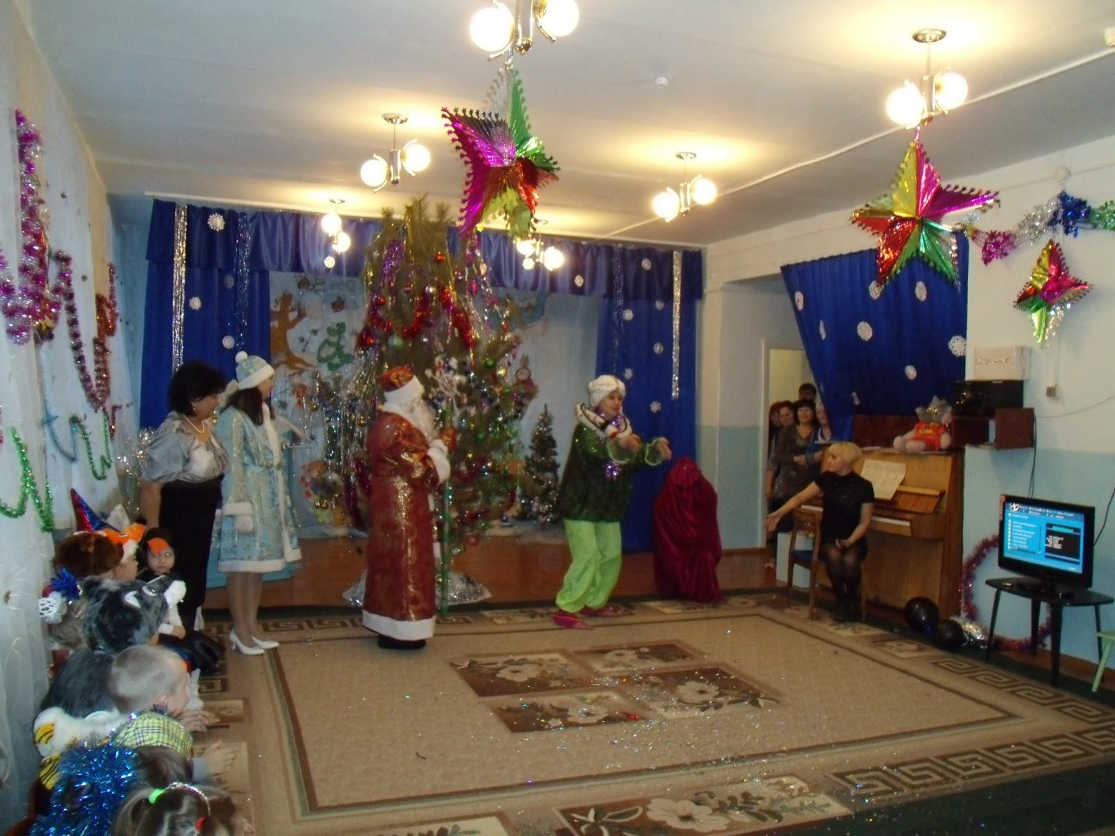 Сценарии детской рождественской елки