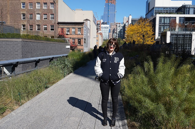 Grace DeMorgan Sydney Australian playwright tour guide to chelsea markets in new york city highline high line